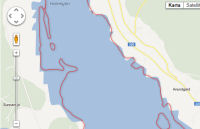 Gweler map o sail Holm Lake.