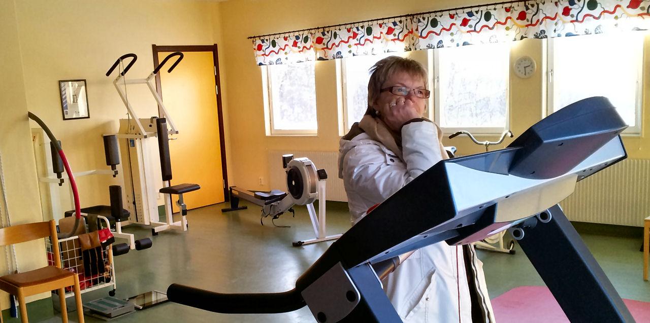 Dristrikssköterska Ing-Marie från Holm på Hälsocentralen Liden.