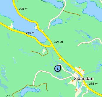Karta Sjöändan.