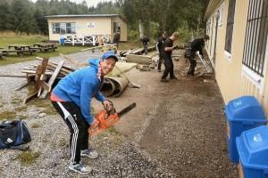 Mattson med flera snyggar till på Holmvallen.