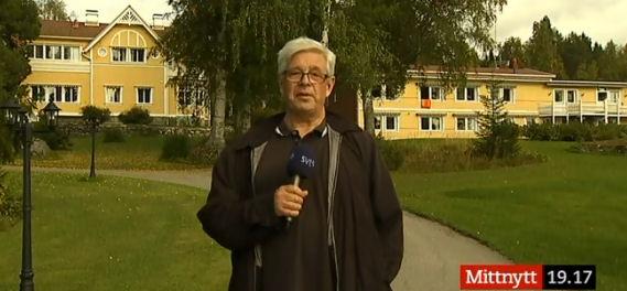 Reportage i SVT.