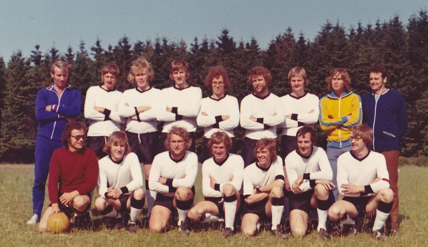 Holms A-team in Germany 1973.