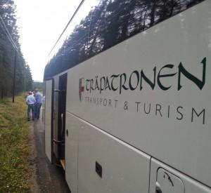 Stora Partei Bus von Holm und Sundsvall.