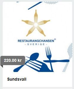 Beställ restaurangchansen av oss!