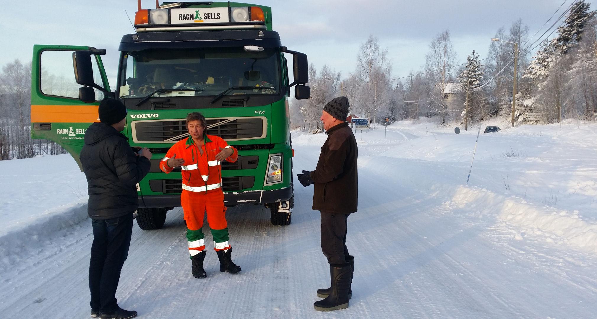 Diskussioner om mackbygget på stora vägen i Holm.