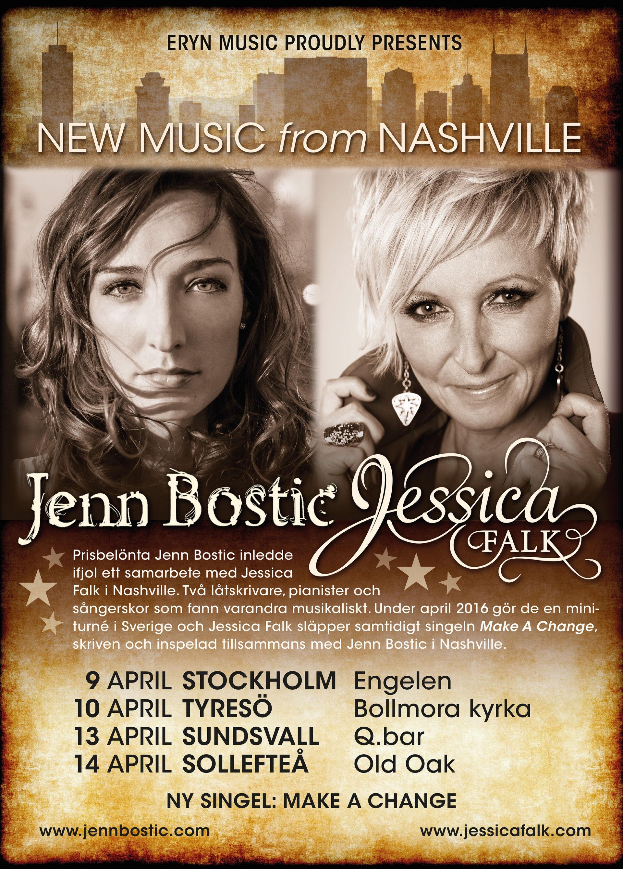 Jenn & Jessica på turné.