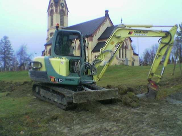 Fiber grävdes genom Anundgård 2005. Nu skall hela Holm får det.